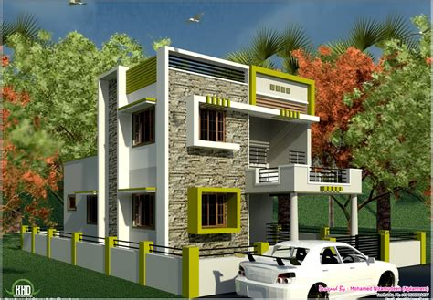 modern home design front view and landscaping beautiful