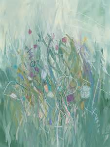Abstract Garden Art - the garden abstract art abstract paintings original art abstract watercolor paintings