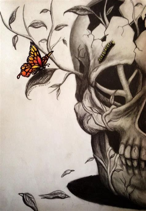 25 best ideas about skull drawings on pinterest awesome