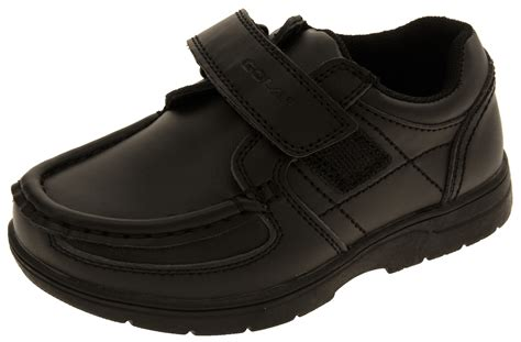school shoes for size 13 boys gola black trainers coated leather school shoes