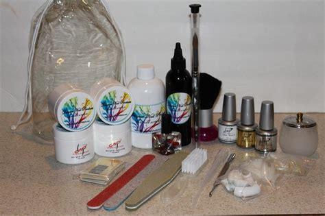 acrylic nail products acrylic nail products gold kit
