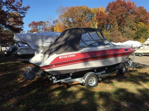 four winns boat canvas four winns 205 sundowner boats for sale