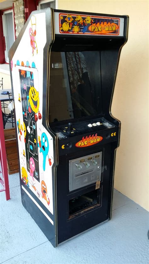super pac man arcade cabinet super pac man by sidam namco