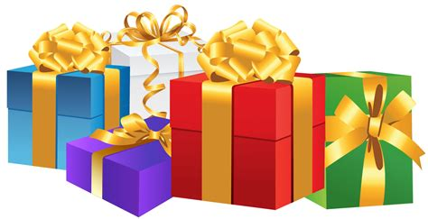 photo presents gift box png image