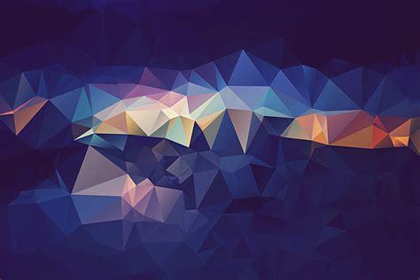 wallpaper cahaya biru wallpaper ilustrasi abstrak simetri biru segi tiga