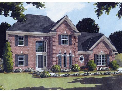 georgian style house plans villanova georgian style home plan 065d 0199 house plans