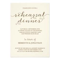 rehearsal dinner 5x7 paper invitation card zazzle
