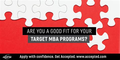 Canadian Mba Programs No Work Experience by Are You A Fit For Your Target Mba Programs The