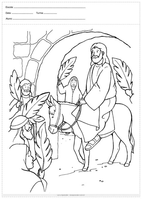 Desenhos Bíblicos para colorir - Atividades Educativas