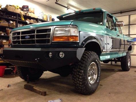 96 ford ranger front bumper 92 96 ford size front 0 quot 3 quot lift truck winch bumper