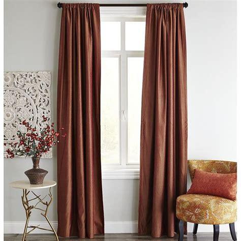 spice curtains roulette blackout curtain spice pier 1 imports