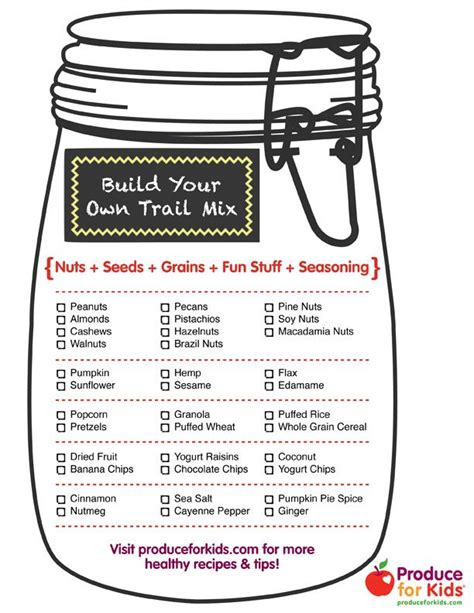 printable healthy easy recipes 1000 ideas about homemade trail mix on pinterest trail