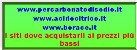 testo romagnolo dove si compra percarbonato a 2 42 kg acido citrico a 3 60 kg