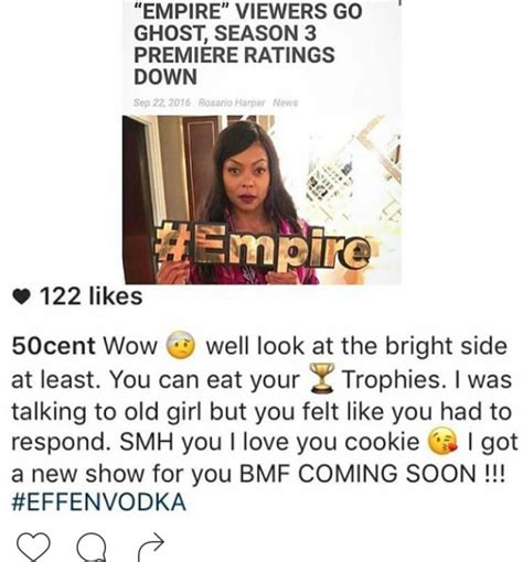 empire tv show trying to make a change 50 cent got destroyed by taraji p henson and vivica a