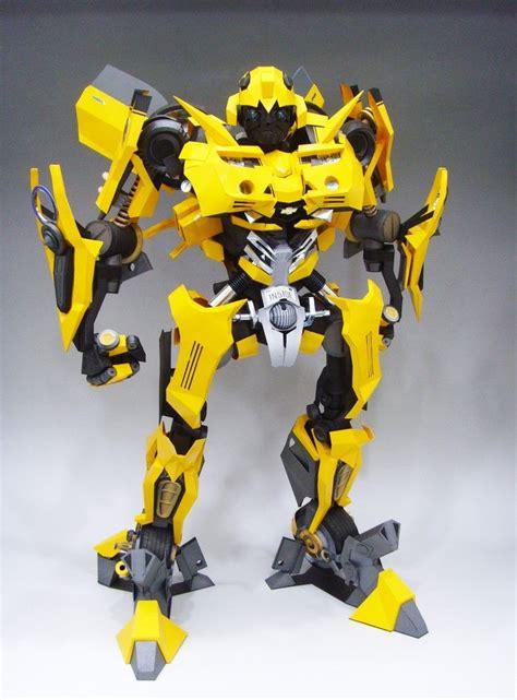 Bumblebee Papercraft - transformers bumblebee papercraft by rarra