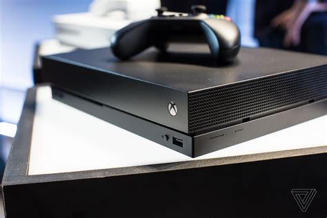 X One X microsoft s xbox one x is a boring black box concealing