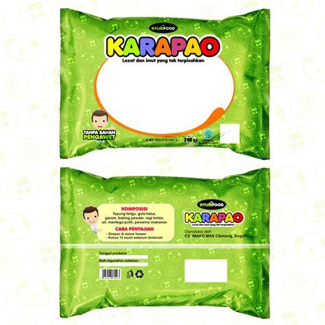 Packaging Sticker Untuk Produk Perekat Lem Brand Kartu Ucapan Kotak sribu desain kemasan desain kemasan untuk produk quot karapao