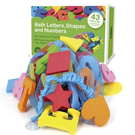 foam bathtub letters 43 piece set foam bath letters and numbers with bonus
