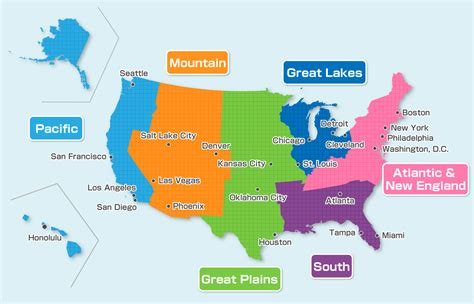 usa map plain map of united states with plains and canyons pictures to