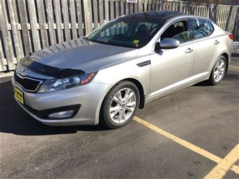 Kia Optima Turbo 2013 2013 Kia Optima Ex Turbo Automatic Leather Panoramic