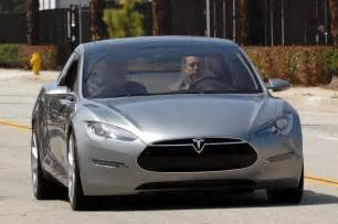Tesla Electric Car Price Model S Tesla Model S Electric Car Live Unveiling Img 1 It S