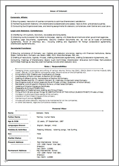 Entry Level Beaverton Oregon Mba Preferred by Resume Co Excellent Resume Sle Of Icsi