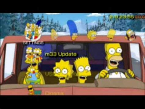 psp themes simpsons surprise release the simpsons theme ctf and flash0 theme
