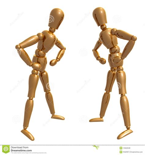 design doll poses dummy figure doll confronting pose royalty free stock