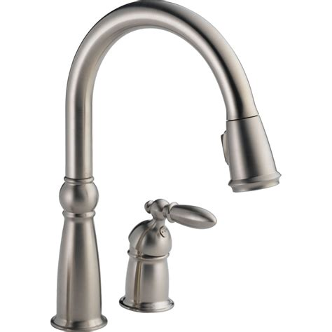 kitchen faucets delta faucet 955 ss dst brilliance stainless