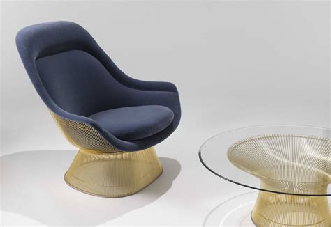 platner armchair platner armchair gold by knoll stylepark