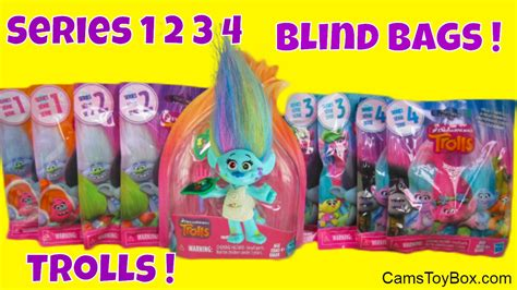 Dreamwork Trolls Blind Bag Series 2 Series 3 Complete Your Collect trolls series 1 2 3 4 blind bags dreamworks to
