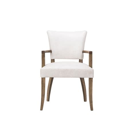 Timothy Oulton Mimi Dining Chair With Arms Weathered Oak Dining Chairs Arms