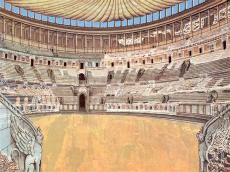 colosseo interno anfiteatro flavio detto colosseo viaggio in baule