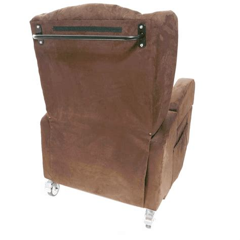 poltrone con ruote poltrona con ruote e braccioli removibili 72 cm vera 2