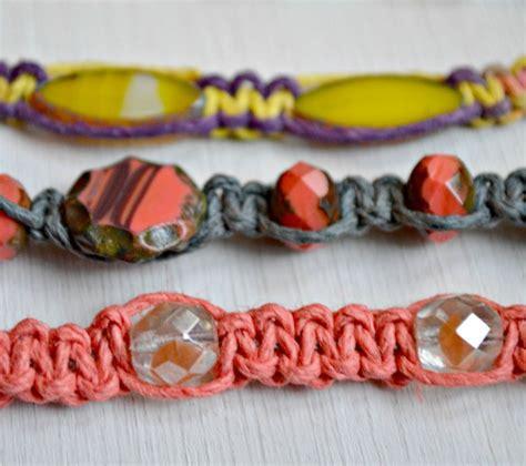 Cool Macrame Bracelet Patterns - cool and colorful diy macrame bracelet