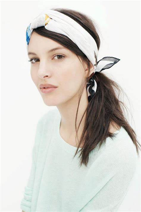 hairstyles with scarf headbands the 25 best headband scarf ideas on pinterest diy hair