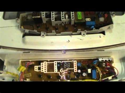 tarjetas electronicas de lavadoras reparacion tarjeta de lavadora samsung youtube