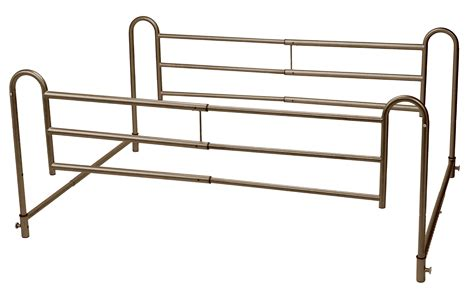 bed rail home bed style adjustable length bed rails drive medical