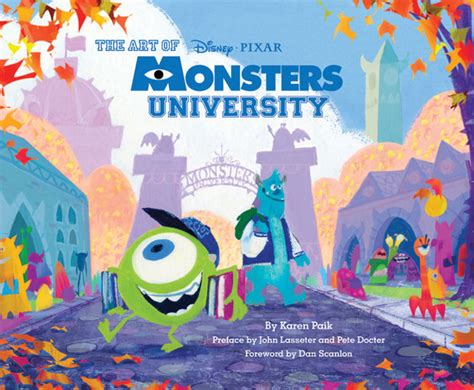 awn books book review the art of monsters university animation