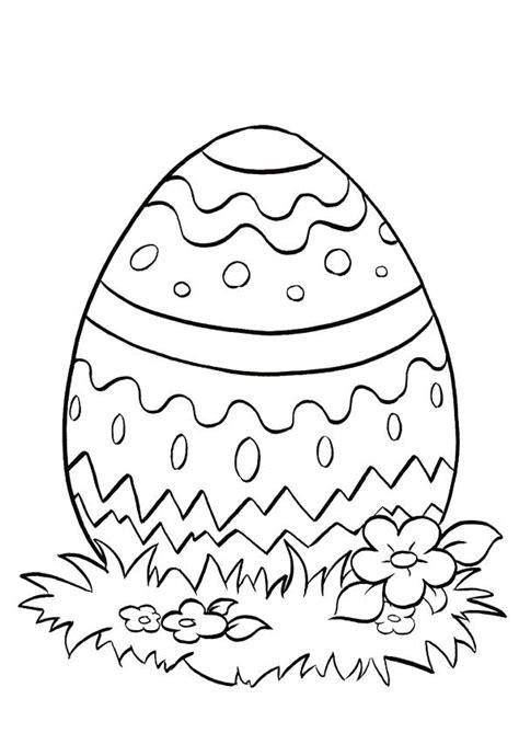 Printable Colouring Easter Eggs L L L