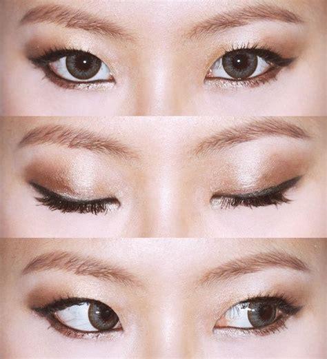 eyeshadow tutorial for asian eyes asian eyes japanese make up asian make up etc pinterest