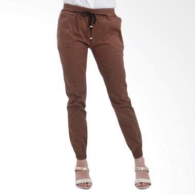 Sepatu Casual Simple Santai Adidas Adria Coklat jual adore celana jogger tali coklat harga kualitas terjamin blibli