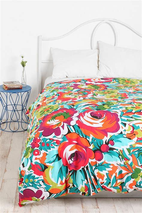 bedding like urban outfitters bouquet duvet cover bedroom pinterest urban