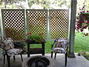 12 diy privacy screens for spending peaceful days on the patio