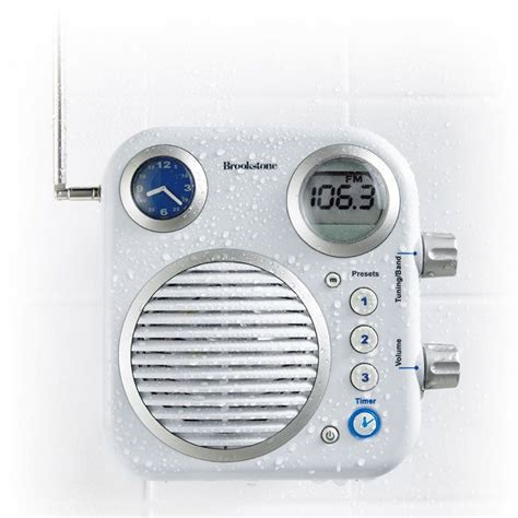 Radio For Shower Bathroom Shower Radio Great Gadgets Pinterest