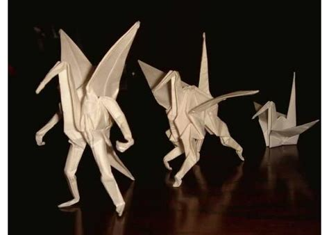 Origami Crane With Legs - retweeted collections of images in 2011 gaijinpot