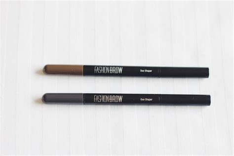 Maybelline Fashion Brow Duo Shaper maybelline fashion brow duo shaper demo review magali