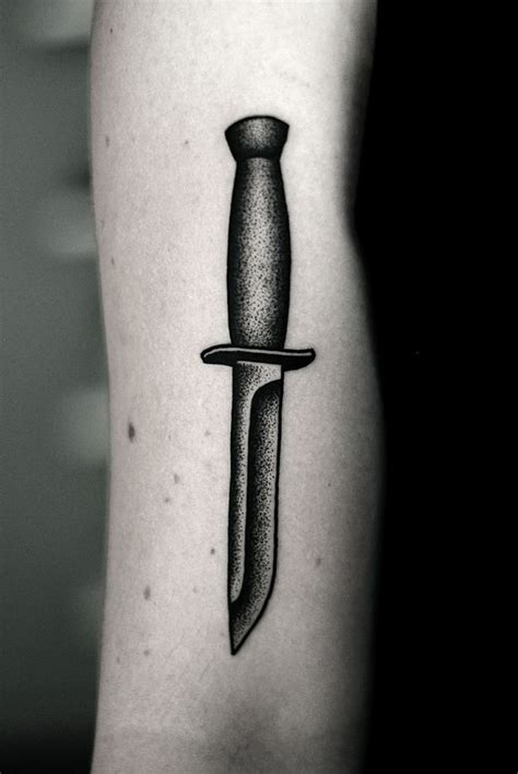 Tattoo Pictures Of Knives | kamil czapiga tattoo 2013 knife dagger tattoo art