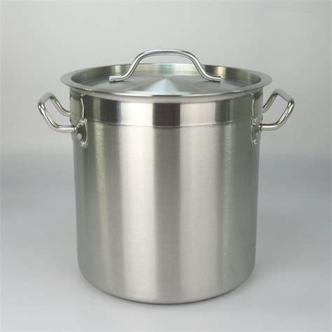 15 galon panci dengan tutup stainless steel saham