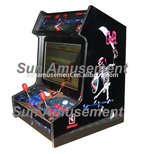 bar top arcade machine killer instinct bartop arcade machine wsa 668ki buy